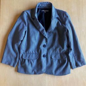 NY Collection: 3/4 Sleeve Blazer